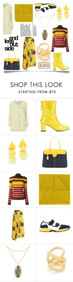 """""""Must always be different"""" by emmamegan-5678 ❤ liked on Polyvore featuring P.A.R.O.S.H., Misa, Myriam Schaefer, Marni, Faliero Sarti, Proenza Schouler, Kendra Scott, Amber Sceats and modern"""