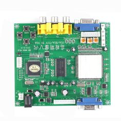 1 Set New RGB CGA EGA YUV to VGA HD Video Converter Board Moudle HD9800 GBS8200  #Affiliate