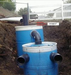 Composting toilet for cabin diy pinterest toilets for How to build a septic tank
