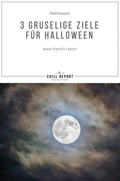 3 gruselige Ziele für Halloween - The Chill Report Things To Do In London, Halloween, Romania, Stuff To Do, Europe, Celestial, Dublin Ireland, Black Magic, Freemason