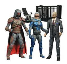 "Gotham Minimates /""Wrath of the Villains/"" Series 4 Detective Harvey Bullock"