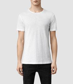 Men's Figure Crew T-Shirt (optic white) -