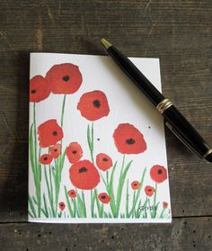 Poppies nature garden - http://www.etsy.com/listing/96186563/poppies-nature-garden-woodland