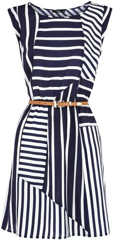 Cute navy dress!