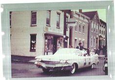 Wow, I had no idea!  JFK campaigning in Troy, NY 1960