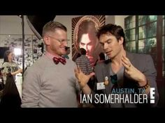 Ian Somerhalder Talks About Grumpy Cat