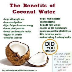 """10 Impressive Health Benefits of Coconut Oil Coconut oil is one of the few foods that can be classified as a """"superfood.""""Its benefits include weight loss, better brain function, skin health and many more. Here are 10 impressive health benefits…Read more → Coconut Water Benefits, Lemon Benefits, Health Benefits, Fruit Benefits, Vegetable Benefits, Oil Benefits, Weight Loss Water, Weight Loss Help, Lose Weight"""