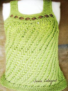 Loom-Knit-Summer-Sweater-Free-Patttern