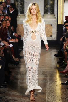 Emilio Pucci Does Jane Birkin's Lace Dress