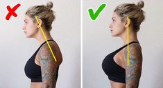 Dowager's Hump and How to Fix It (It's Not Only About Your Posture) - Small Joys Posture Stretches, Posture Exercises, Back Hump, Buffalo Hump, Position Pour Dormir, Sternocleidomastoid Muscle, Postural, Perfect Posture, Increase Muscle Mass