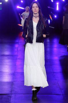 Saint Laurent  Maxi Dress + Leather Top 14: Best of Resort 2016 - VOGUE
