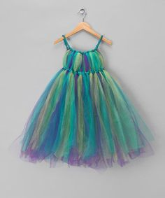 Peacock Fairy Dress - Toddler & Girls by Enchanted Fairyware Couture on…