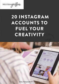 If you want to learn how to grow your instagram following, check out these top accounts. Fuel your creativity and tons of social media content ideas from their posts. They have tons of great business growth tips, instagram marketing ideas and more! #melyssagriffin, #instagramfollowers, #instagramtips, #instagrammarketing, #growyourinstagram Instagram Accounts To Follow, Instagram Tips, Instagram Story, Social Media Content, Social Media Tips, Melyssa Griffin, Instagram Marketing, Media Influence, Productivity Quotes