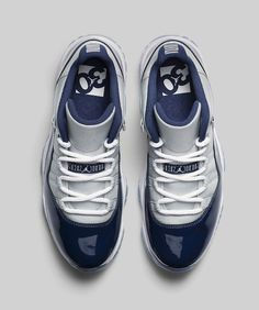 Air Jordan XI Low-Georgetown-4