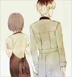 Haise and Touka
