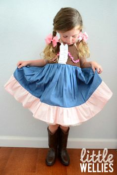 SHERIFF CALLIE Inspired Sweetheart Dress by LittleWellies on Etsy