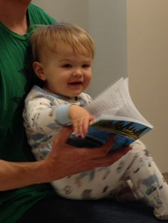 19 month old Koa in Emergency Room. Maggie's book 1 MaggieMooseTracks® Making Friends-helps distract Koa from his 'boo boo' while he gently flips through the colorful pages! PS. Under age reader. MMT's books are for 6up. he he