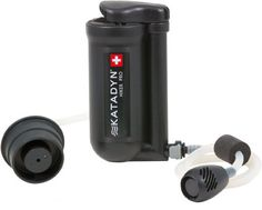 Water is always an issue. One of these solves it. The Katadyn Hiker Pro Water-purifier.