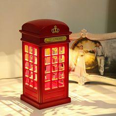 Luminária de Cabine Telefônica de Londres