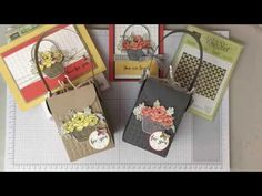(57) Blossoming Basket Bundle by Jenny Moors UK Stampin' UP! Demonstrator - YouTube
