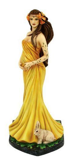 Mother Earth Goddess Figurine- Jessica Galbreth Display Model No Box - Burning Desires Gifts Fairy Statues, Fairy Figurines, Beautiful Fantasy Art, Beautiful Fairies, Earth Goddess, Fairy Gifts, Fairy Jewelry, Fairy Art, Fantasy Girl