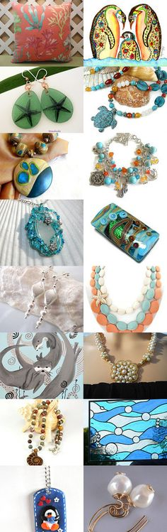 Beauties Under the Sea by Mary on Etsy--Pinned with TreasuryPin.com