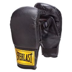 Everlast Leather Training Bag Gloves by Everlast. $8.44. Bring together all the essentials for heavy bag and punch mitt work.   Premium grade leather provides long-lasting durability and functionality   Gloves feature anatomical thumb padding and 18-inch hook-and-loop wrist strap   Conforms to the natural shape of the fist for maximum comfort. Save 76% Off!