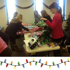 The warehouse opened today which means we've got a busy few weeks ahead of us! Join our volunteer team to come help us wrap gifts!  Head to HolidayHelpers.org for more information.