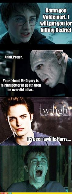 Harry Potter Funny Memes Clean : Harry potter meme yes he can i hate twihlight tumblr