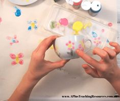 Our Fingerprint Cup & Saucer is the perfect Mother's Day Gift to make at home or at school. Simply and stress free Mother's Day Craft for kids to make Mums day special. See video & Get instructions and equipment on our website! Mothers Day Crafts For Kids, Crafts For Kids To Make, How To Make, Mother Day Gifts, Gifts For Mom, Necklace With Kids Names, Cute Teapot, Perfect Mother's Day Gift, Kindergarten Activities