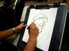 Caricatures by Team Linetweaker - www.linetweaker.com - YouTube