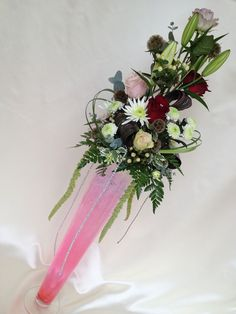 Tall flower arrangements designed by Chanan's Floral Events