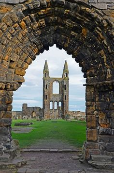St Andrews Cathedral, Scotland | Wonderful Places