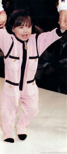 Amber Le Bon 1991 chanel