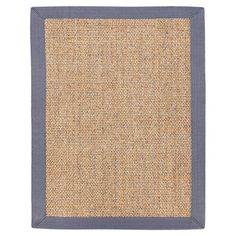 Woven from sisal with a cotton border, this lovely rug brings natural style to your decor.    Product: RugConstruction M...