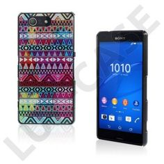 Persson Sony Xperia Z3 Compact Cover - Stå-ud Tribal Mønster