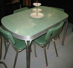 Aluminum kitchen table