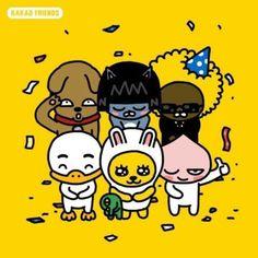 카카오 프렌즈 vs 라인 프렌즈 | 인스티즈 Apeach Kakao, Kakao Friends, What To Draw, Line Friends, Wallpaper Iphone Cute, Kawaii Drawings, Cute Characters, Emoticon, Character Illustration
