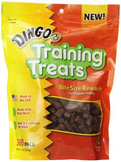 Dingo Training Treats -- Continue to the product at the image link. (This is an affiliate link) #DogTreats