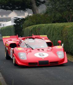 Ferrari 512 M, the fierce adversary of Porsche 917 in so many battles on early Seventies. Ferrari Racing, Ferrari Car, Sports Car Racing, Sport Cars, Auto Racing, Drag Racing, Classic Sports Cars, Classic Cars, Porsche