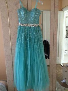 Echte Sherri Hill jurk, met hoogste bod van 25 euro. WAUUUW