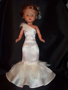 American Doll Clothes, Ag Doll Clothes, Vestidos Nancy, Barbie Bridal, Nancy Doll, Bride Dolls, Wellie Wishers, Special Dresses, Girl Dolls