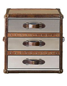 luggage trunks decorative storage trunks and luggage house beautiful - Decorative Storage Trunks