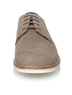 Everett suede shoe | Grey | Ben Sherman