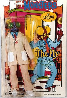 The Fly. Fully jointed monster.