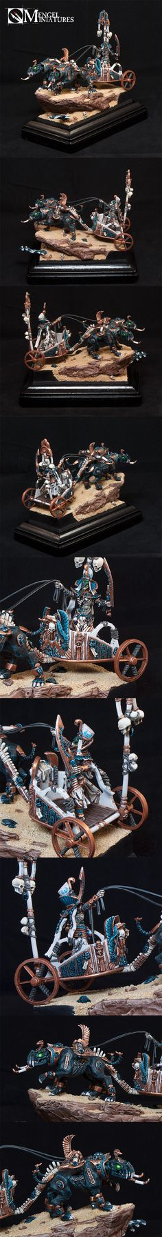 Tomb King on Chariot