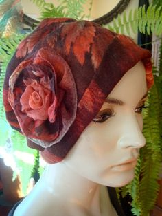 Chemo Hat  Chemo Summer Headwear Soft extra Lightweight beautiful Rayon fabric womens chemotherapy Hat ooak by GypsyLoveHeadbands on Etsy https://www.etsy.com/listing/234035536/chemo-hat-chemo-summer-headwear-soft