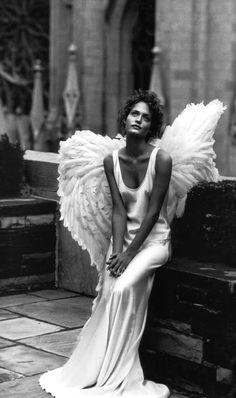 Peter Lindbergh: Amber Valetta for Harper's Bazaar