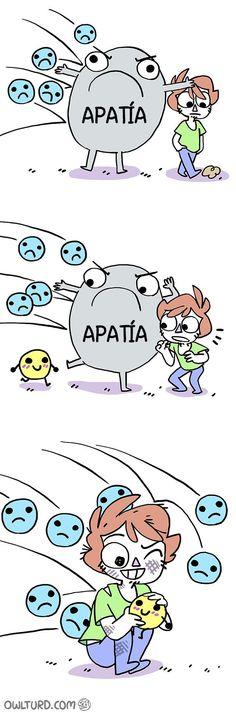 comic apatía