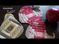 Applique Tutorial, Cute Quilts, Quilting Tutorials, Bag Tutorials, Hot Pads, Ruler, Pot Holders, Sewing Projects, Patches